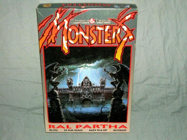 Ral Partha Box Set Dungeons And Dragons Monsters (very Rare And Near Mint!)