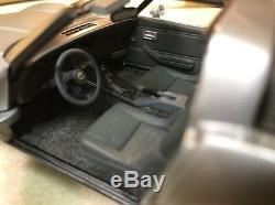 Rare 1/24 Franklin Mint Silver & Charcoal 1982 Corvette 1 of 6 Made Very Rare