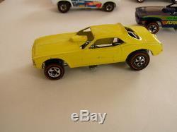 Redline Hotwheels very RARE 1973 Snake car 6969 in YELLOW Near Mint Nice Gift