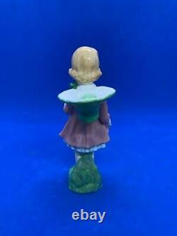 Royal Doulton Vintage Harradine Figurine! Springtime! Hn 1971! Mint! Very Rare