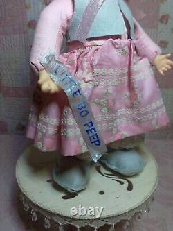 Rushton Rubber Face 16 Little Bo Peep MintVery Rare