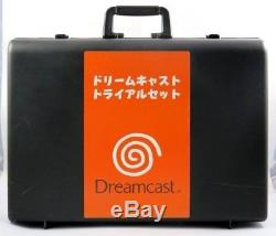 SEGA Dreamcast TRIAL SET Promotionnal Case Japan very RARE MINT