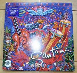 Santana Supernatural Lp 2x Lp Very Rare Ex+ / Near Mint Vinyl Played Twice