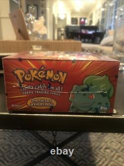 Sealed Topps Pokemon Series 1 Booster Box Very Rare See Pics CF Mint