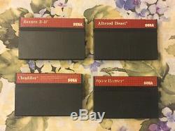 Sega Master System Game Lot 42 Games including VERY RARE Buster Douglas CIB