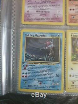 Shining Gyarados Neo Revelation 1st Edition NM Near Mint 65/64 (very RARE)