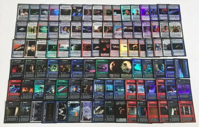 Star Wars Ccg Reflections Ii 2 Vrf Srf Very Rare + Super Rare Foil Lot Sets