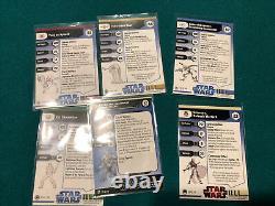 Star Wars Miniatures Very Rare And Rare Lot Rancor Yoda Grievous DAC Kol