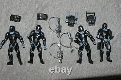 Star Wars Republic Omega Squad battle pack lot of 4 commandos very nice + rare