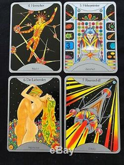 Sternenmadchens Wahrsagespiel Tarot, 1st Ed, 1975, OOP, Very Rare, Unused, MINT