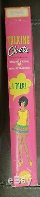 TALKING CHRISTIE Barbie Mint NIB Vintage doll 1969 VERY Rare NRFB mattel TNT