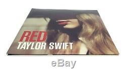 TAYLOR SWIFT RED ACM FYC PROMO RED VINYL 2-LP GATEFOLD VERY RARE! Near Mint