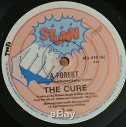 THE CURE A Forest. VERY RARE Aussie/OZ UNIQUE Sleeve 7/45 -near MINT-PUNK/GOTH