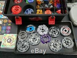 Takara Tomy Beyblade Metal Fight Burst HUGE Lot set with box very good rare