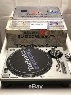 Technics-1200 MK3D Turntable (VERY RARE, JAPANESE EXCLUSIVE, NEAR MINT)