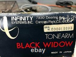 Technics SL-150 mk2 with Infinity Black Widow Tonearm MINT CONDITION & VERY RARE