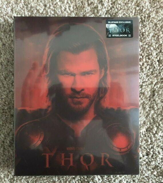 Thor Blufans Steelbook Sealed Mint Very Rare