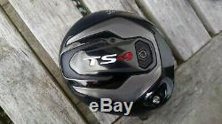Titleist Ts4 Driver Head+cover Only. 9.5 Degrees. Mint. Very Rare. Free Delivery