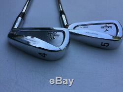 Tourstage Z101 Irons 4-PW RH Mint Condition Very Rare