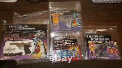 Transformers 1984 Hasbro/1987 Hasbro/1986 Hasbro/1988 Hasbro Very Rare Lot