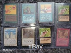 Updated MTG magic the gathering ALPHA LOT x 49, very rare cards