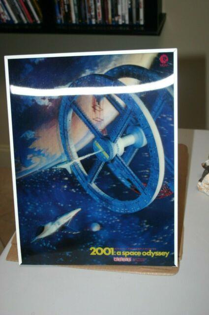 Very Rare! 2001 A Space Odyssey 3-d Lenticular Standee Near Mint