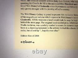 VERY RARE 2005 Disney Cinderella Storybook Treasure Box LE of 2500 MINT