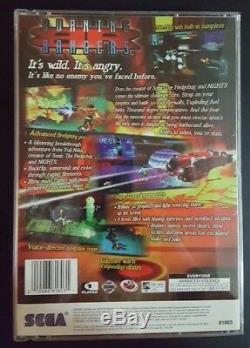VERY RARE & COMPLETE Burning Rangers Sega Saturn MINT