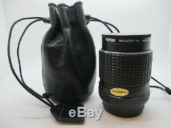 VERY RARE! F2.0 MINT SMC Pentax 28mm F/2 Wide Angel Lens K Mount SLR DSLR