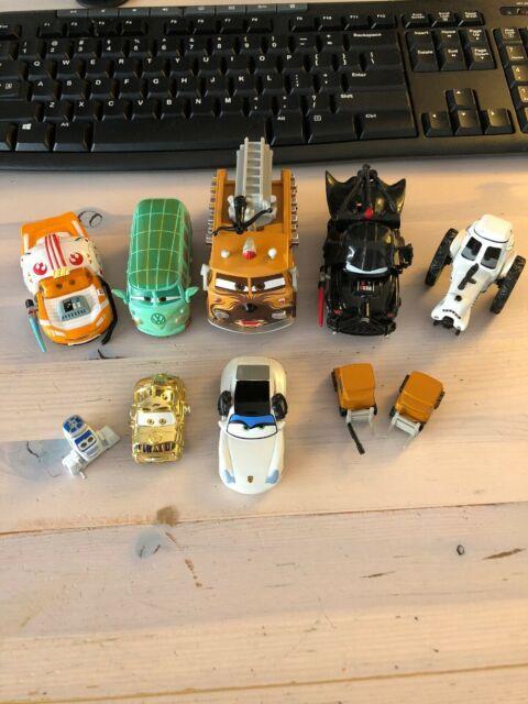 Very Rare Lot Disney Pixar Cars Star Wars Cars Assorted Lot