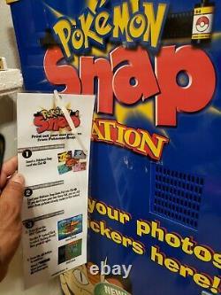 VERY RARE LOT! -Pokemon Snap Station Key Chain from Blockbuster Video Kiosk