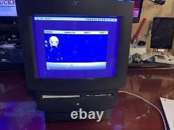 VERY RARE Macintosh TV Model M1580 LOT VERY NICE CONDITION Tested & Working