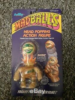VERY RARE Madballs DUST BRAIN AMTOY 1986 MINT ON CARD