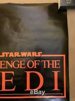 VERY RARE NEAR MINT-Vintage BOOTLEG Revenge of the Jedi Poster-Variety Magazine
