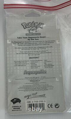 VERY RARE Pokemon Aquapolis Booster Pack Sealed Blister Pack