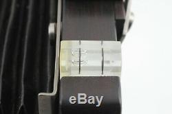 VERY RARE TOP MINT EBONY Ti SV45 TE Large Format Film Camera From Japan C084