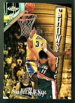 VERY RARE of 289 MINT 1997-98 Topps Finest REFRACTOR Shaquille O'Neal #309 HOF