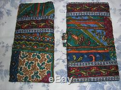 Vera Bradley Medley Very Rare 5 Pc Lot Vera Tote/Small Duffel/Cosmetics & More