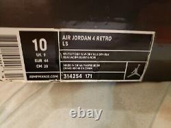 Very MINT/2006 RARE AIR JORDAN Retro 4/Rare Air Tour Yellow Size 10 314254 171