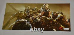 Very RARE GEARS OF WAR 3 Promo 3D Prints (Hard Paper Poster) 3 Pack Lot