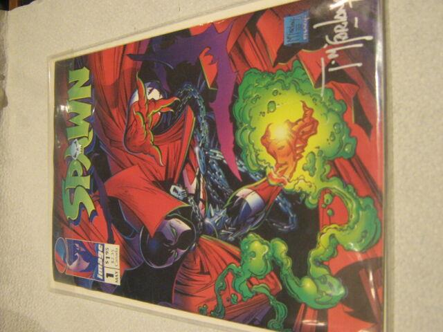 Very Rare Signed Copy Of Spawn Comic Book 1st Issue May 1992 Comic Books Mint Nr