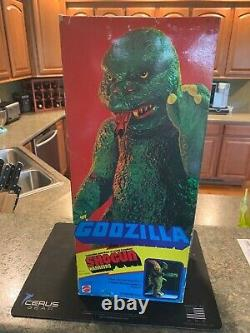 Very Rare 1977 Mattel Shogun Godzilla Early First Issue Japan Smooth Tail MINT