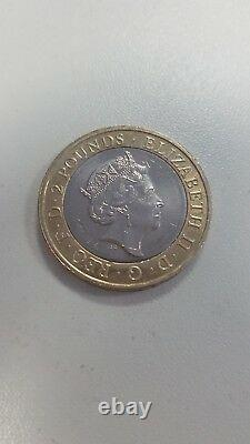 Very Rare 2016 William Shakespeare £2 coin Two Pound Minting Error Tragedies
