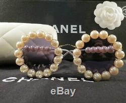 Very Rare Auth Chanel Vintage Pearl Sunglasses 03526-z0020 Collectors Mint Cond