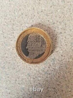 Very Rare Charles Dickens 2012 £2 Pound Coin with Double Mint Error
