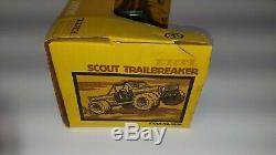Very Rare Ertl International Scout Trailblazer Mint Condition NIB New NOS