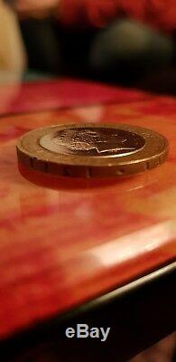 Very Rare Excellent Condition Mary Rose £2 Coin 2011 Minting Error