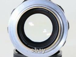 Very Rare Fuji FUJINON 50mm 5cm f2 L Lens, Leica LTM 39 MINT- From Japan#4003