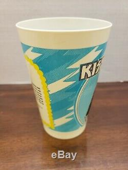 Very Rare Kiss 1977 1978 Majik Market Cup Ace Frehley #4 Aucoin Mint Condition