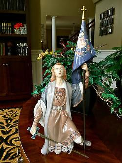 Very Rare & Large 21.50LladroThe New World WithWood Base (1486 Mint Condition)